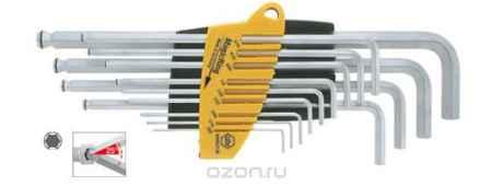 Купить Набор ключей 6-тигранных ProStar SB369R SZ13 со сферической головкой MagicRing, 13 предметов Wiha 24850