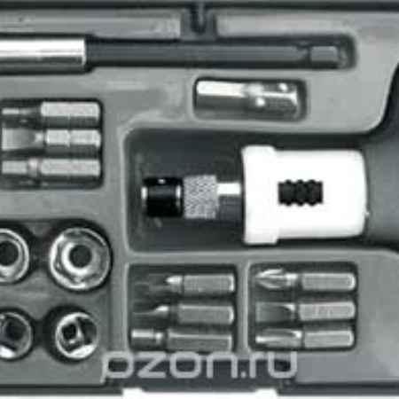 Купить Отвертка пистолетная, реверсивная с 23 битами CrV