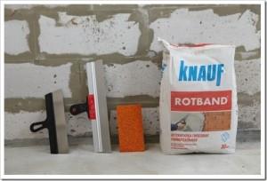 Какая штукатурка лучше - гипсовая или цементная?