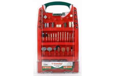 Купить Набор аксессуаров Hammer Flex 219-002 MD AC - 2 для мини дрелей 137 шт.