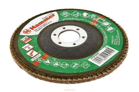 Купить Круг лепестковый торцевой КЛТ Hammer Flex 213-005 125 Х 22 Р 120 тип 2