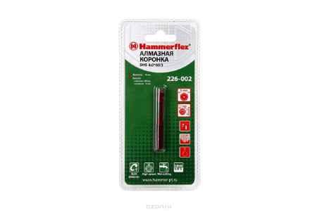 Купить Алмазная трубчатая коронка Hammer Flex 226-002 DHS 8,0*60/5, A3, алмаз 60Р, керамогранит