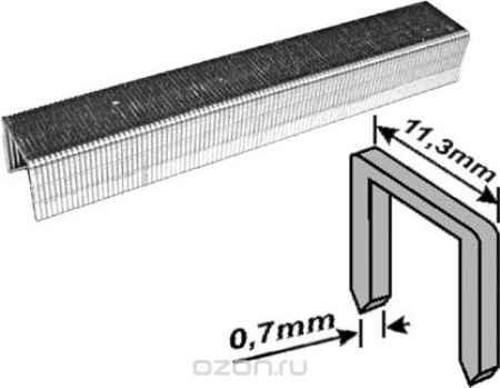 Купить Скобы для степлера Fit, тип 53, 12 мм, 1000 шт. 31332