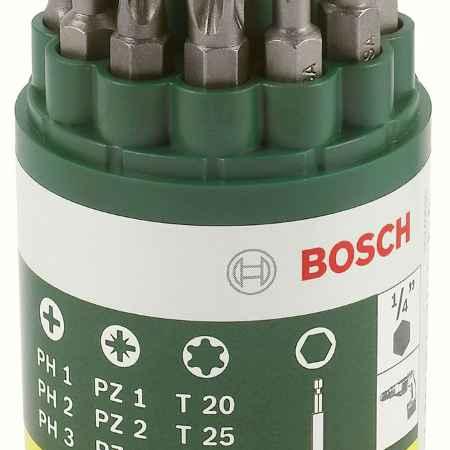 Купить Набор из 9 бит + универсальный держатель Bosch 2607019452