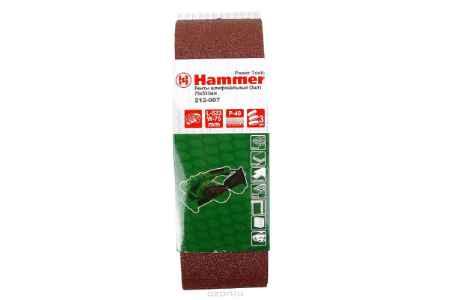 Купить Лента шлиф. Hammer Flex 212-007 75 Х 533 Р 40 по 3 шт.