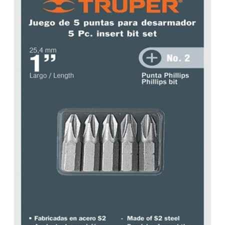 Купить Набор бит Truper, PH2 x 25 мм, 5 шт