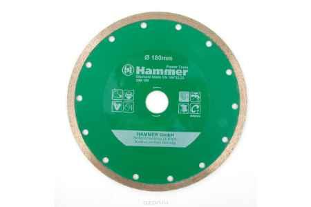 Купить Диск алм. Hammer Flex 206-109 DB CN 180*22мм сплошной