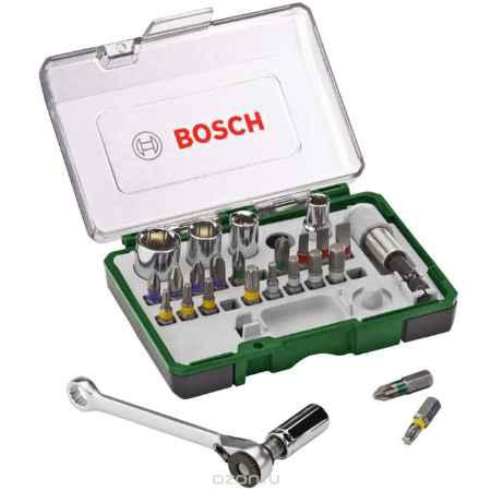 Купить Набор бит с ключом-трещоткой Bosch 2607017160, 27 шт