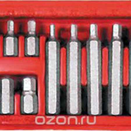 Купить Набор шестигранных бит FIT 10 мм с адаптером для воротка 1/2