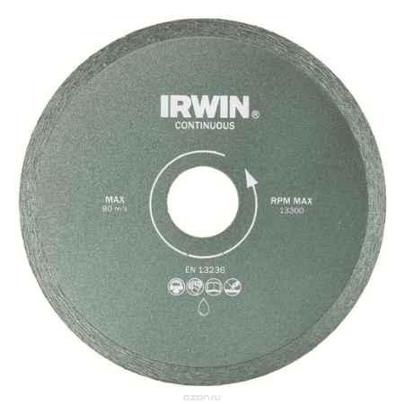 Купить Диск алмазный сплошной Irwin Continious, мокрая резка, 230 / 25,4/22,2 мм
