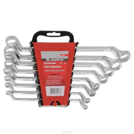 Купить Набор ключей накидных Matrix, полированный хром, 8 шт