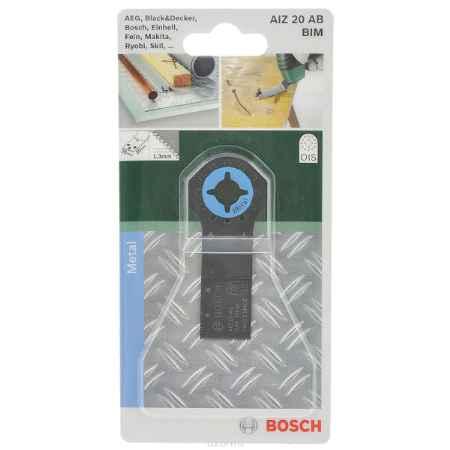 Купить Пильное полотно по металлу Bosch Bim, для PMF 180, 20х20 мм