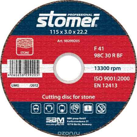 Купить Диск отрезной Stomer, 115 мм, CS-115. 98299205