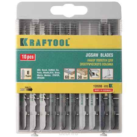 Купить Kraftool набор пилок для эл/лобзика, 10 шт