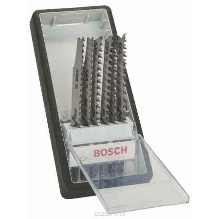 Купить Набор пилок по дереву Bosch, Т-образный хвостик, 6 шт