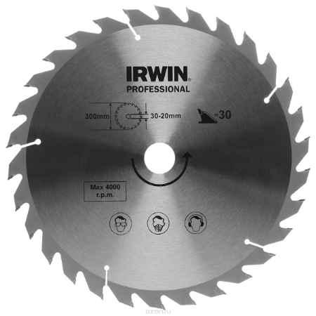 Купить Диск пильный Irwin Wood, 300х30х30/20