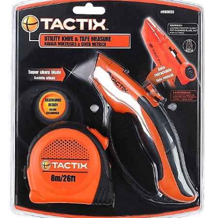 Купить Набор инструментов Tactix, 2 предмета. 900059