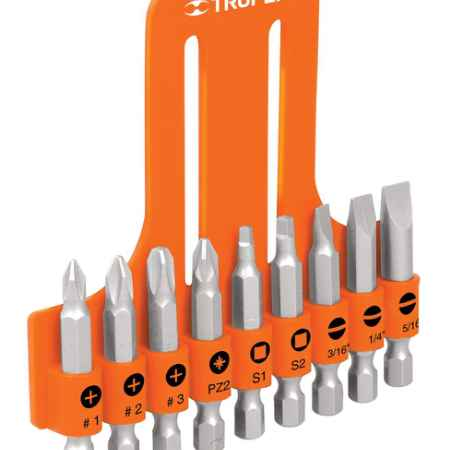 Купить Набор бит Truper, 51 мм, 9 шт