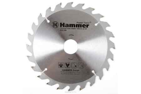 Купить Диск пильный Hammer Flex 205-108 CSB WD 185мм*24*30/20мм по дереву