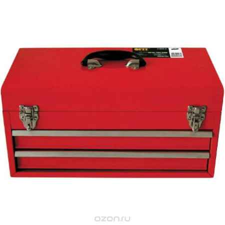 Купить Ящик для инструмента FIT, металлический, с двумя выдвижными отделениями, 46 х 22 х 25 см
