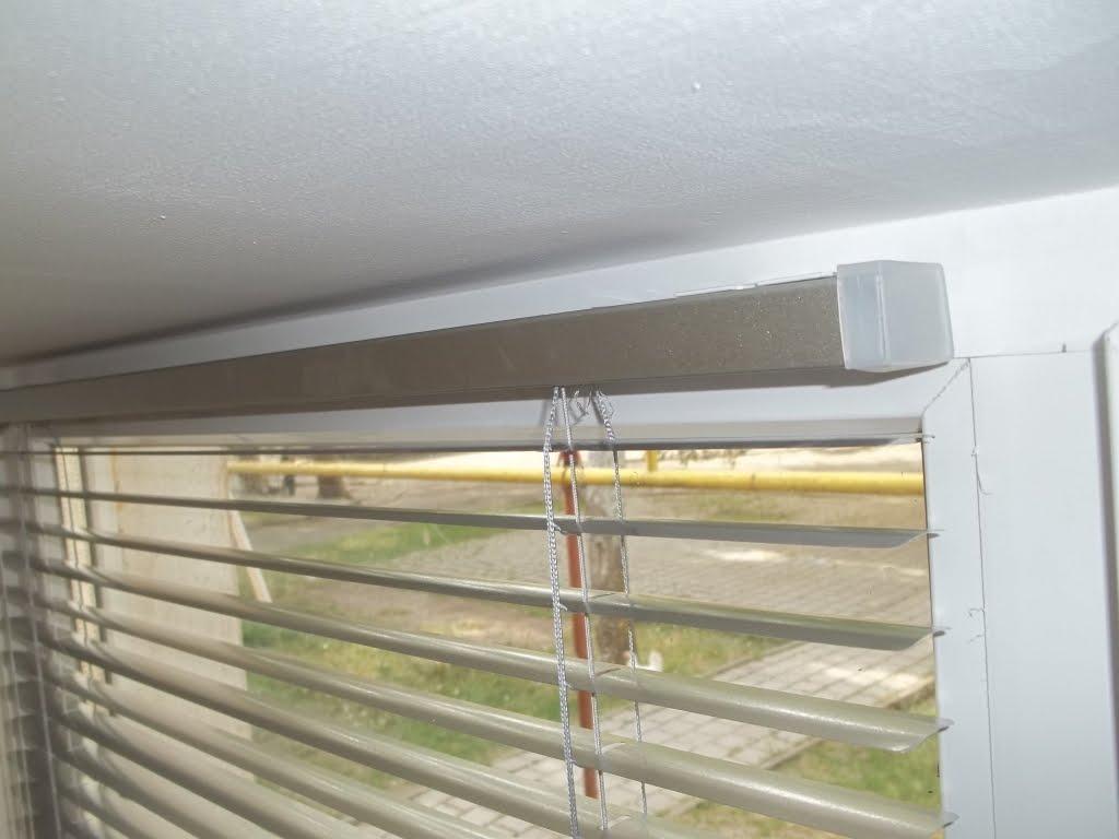 Как крепятся жалюзи на пластиковые окна