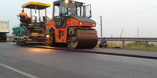 Виды работ при строительстве автомобильной дороги