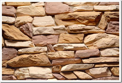 Как ровно уложить натуральный камень?