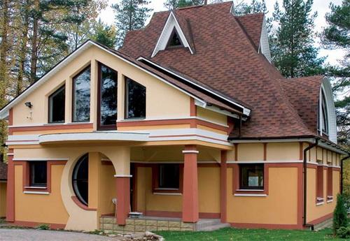Преимущества скатной крыши