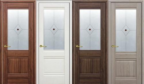 Какие двери лучше - шпонированные или экошпон