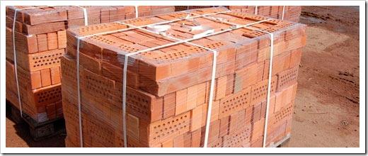 Обожжённые кирпичи для строительства домов