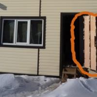 Как утеплить металлические двери в частном доме