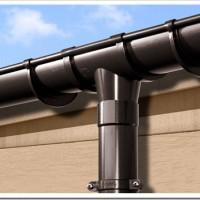 Принцип установки водосточной системы