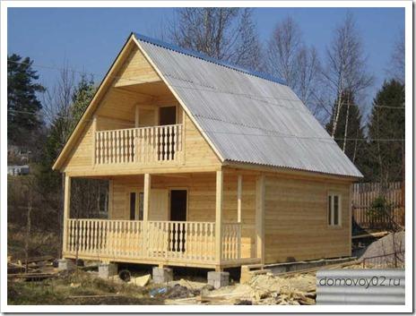 Некоторые особенности возведения домов из клееного бруса