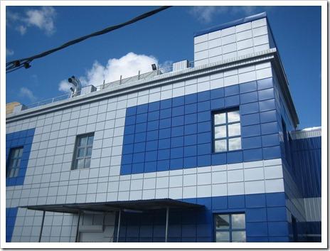 Организация вентилируемого фасада