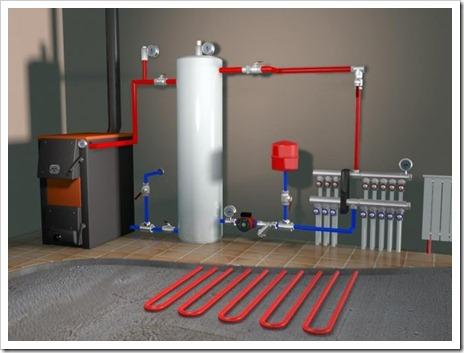 Различные отопительные агрегаты