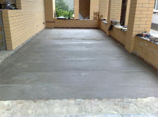 Как выровнять бетонную стяжку