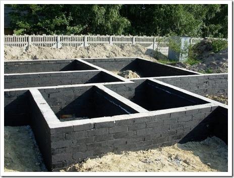 Обеспечение защиты фундаментной конструкции от влаги