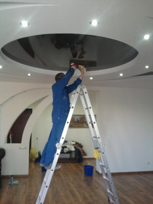 Профессиональное мытье потолков