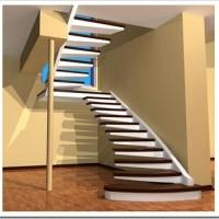 Советы в отношении расчёта длины и высоты лестничного пролёта