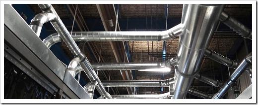 Этапы монтажа вентиляционной системы