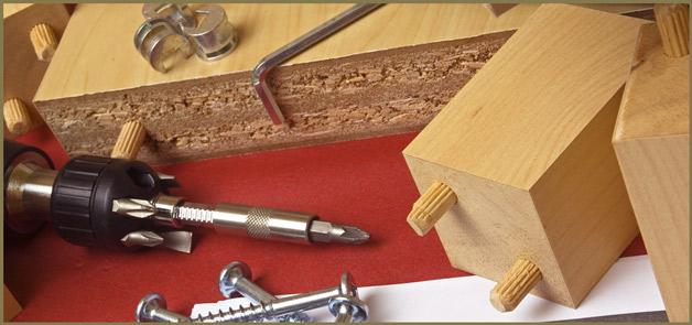 Как отремонтировать мебель из дсп