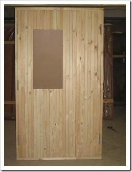 Применение строительных дверей