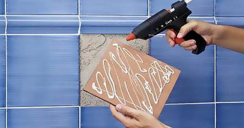 Как приколеить керамическую плитку