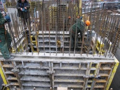 Строительство лифтовой шахты