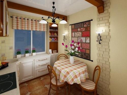 Декорированная кухня
