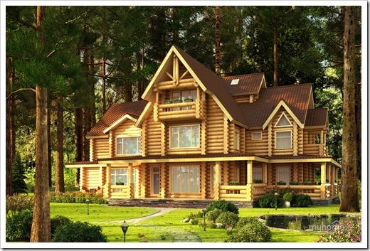 Главный минус строительства домов из дерева