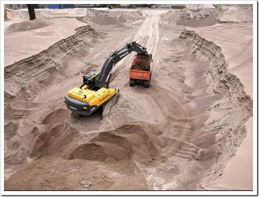 Разница между речным песком и карьерным