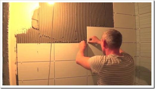 Технологический процесс создания отделочного покрытия