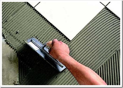 Классификация плиточных клеев