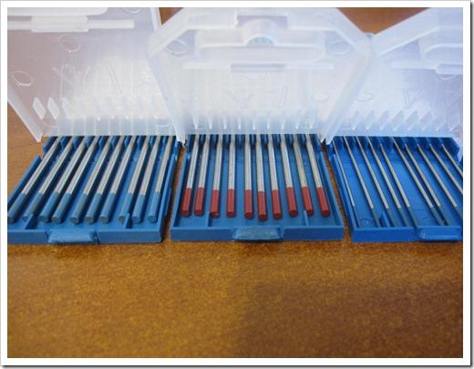 Маркировка вольфрамовых электродов